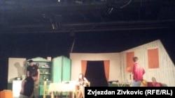 """Banjalučko gradsko pozorište """"Jazavac"""" sa predstavom """"Gavrilo"""" na sceni Kamernog teatra 55 u Sarajevu"""