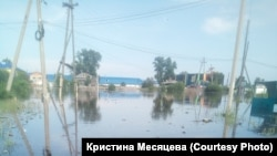 Наводнение в городе Тулун в Иркутской области