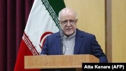 Архивска фотографија: Иранскиот министер за нафта Бијан Занганех.