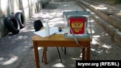 Голосування за поправки до Конституції України в Росії та анексованому нею Криму почалося 25 червня і тривало до 1 липня