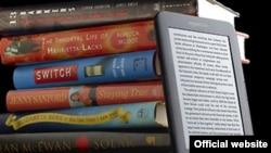 Amazon-ի` էլեկտրոնային գիրք կարդալու համար նախատեսված Kindle սարքը