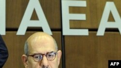 "IAEA chief Muhammad el-Baradei has urged Iran to respond with ""an equal gesture of goodwill and trust-building."""