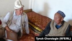 Төлөк Төрөкан менен Т.Чоротегин. Аңыз айылы, КЭР. 13.7.2014.