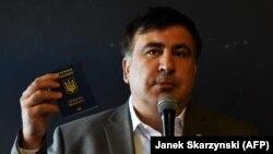 Михаил Саакашвили, бывший президент Грузии и бывший губернатор Одесской области Украины.