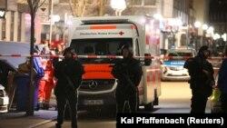 Poliția a securizat zona în care au fost împușcate mai multe persoane în orașul Hanau