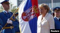 FOTOGALERIJA: Angela Merkel u poseti Beogradu, avgust 2011.