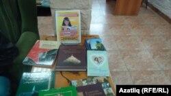 Бәйрәмдә бүләк ителгән татар китаплары