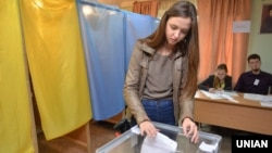 Голосування під час місцевих виборів у Львові. 25 жовтня 2015 року