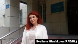 Адвокат Снежанна Ким. Астана, 25 шілде 2017 жыл.