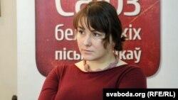 Марыя Мартысевіч. Фота Алены Казловай