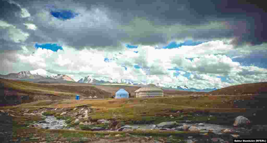 Долина Сары-Джаз. Ак-Суйский район. Иссык-Кульская область.