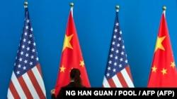 Çin-ABŞ danışıqlarından öncə, arxiv fotosu