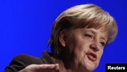 Канцлер Германии и лидер ХДС Ангела Меркель