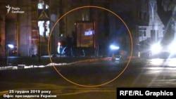 Журналісти помітили, як ввечері 25 грудня кортеж Андрія Богдана виїхав з ОП