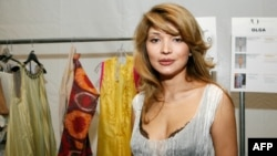 Gulnara Karimova in September 2010 in New York City