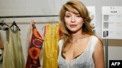 Gulnara Karimova was once seen as a possible heir to her father, the late Uzbek President Islam Karimov. (file photo)