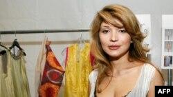 Өзбекстанның бұрынғы президенті Ислам Каримовтың қызы Гүлнара Каримова. Нью-Йорк, 10 қыркүйек 2010 жыл.