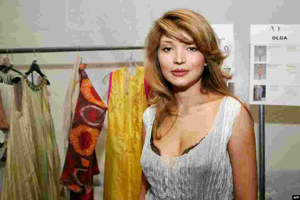 Гульнара Каримова в Нью Йорке, 2010 год.