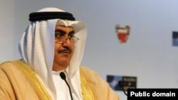 خالد بن حمد آل خلیفه وزیر امور خارجه بحرین.