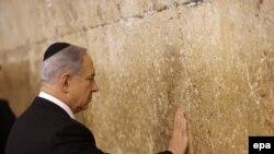 Benjamin Netanyahu martın 18-də Qüdsdə ibadətə gedib