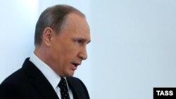 Президент России Владимир Путин. Москва, 3 декабря 2015 года.