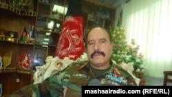 د افغانستان په ختيځ کې د ۲۰۱ سیلاب قول اردو قوماندان برید جنرال محمد زمان وزیري