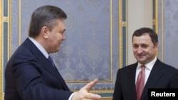Premierul Vlad Filat primit de președintele Ucrainei