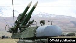 Գյումրիում տեղակայված ռուսական ռազմաբազայի հակաօդային պաշտպանության ստորաբաժանումը զորավարժությունների ժամանակ, արխիվ