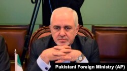 PAKISTAN -- Iranian Foreign Minister Mohammad Javad Zarif attends meeting with Pakistani officials at the Foreign Ministry in Islamabad, May 24, 2019