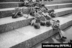 Помнік памяці ахвярам трагедыі на Нямізе