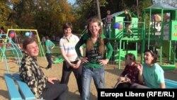 Teren de joacă pentru OSORȚ, deschis cu sprijin german la Tiraspol