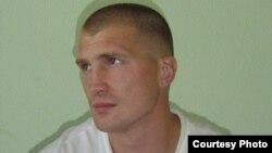 Андрэй Касьпяровіч на час знаёмства з будучай жонкай, Менск, ПК № 1, 2006 год