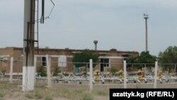 Баткендеги Өзбекстанга тиешелүү газ түтүктөрү.