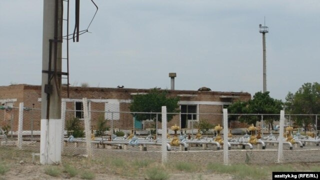A Batken-area gas facility in southwestern Kyrgyzstan (undated)