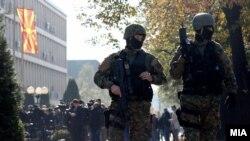 Скопје - Безбедносни сили пред судот, 02.11.2017