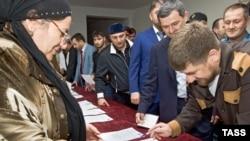 Нохчийчоь -- харжамашкахь кхаж тосуш ву Нохчийчоьнан куьйгалхо Кадыров Рамзан, Соьлж-гself-governmentала, 11Гlа2009