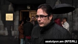 Armenia -- Opposition activist Andrias Ghukasian, 26Oct2015