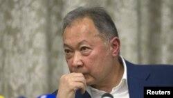 Бывший президент Кыргызстана Курманбек Бакиев. Минск, 22 октября 2015 года.