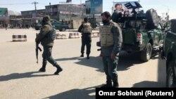 Աֆղանստան - Ուժայինները դեպքի վայրում, Քաբուլ, 7-ը մարտի, 2019թ․