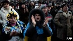 Demonstranti u Kijevu