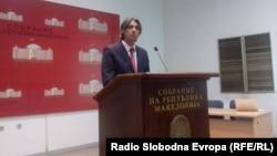 Зијадин Села, лидер на политичката партија Алијанса на Албанците