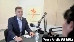 Nebojša Zelenović u razgovoru sa novinarkom RSE Brankom Trivić, jul 2016.