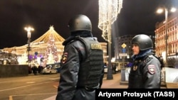 Policija na mestu pucnjave ispred FSB-a u Moskvi