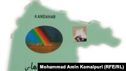 Afghanistan – Kandahar Map which is cut by Kamalpuri from the map of Afghanistan on Thursday 13th January 2011