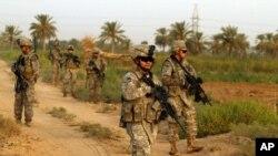 قوات أميركية شمال بغداد