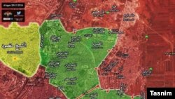 نقشه حلب
