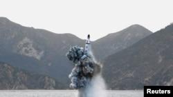 Sjeverna Koreja, proba balističke rakete