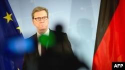 Германия сыртқы істер министрі Гидо Вестервелле.