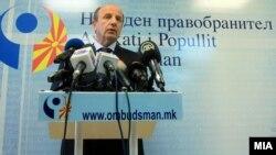 Народниот правобранител Иџет Мемети за годишниот извештај за 2017 година пред пратениците во Собранието.