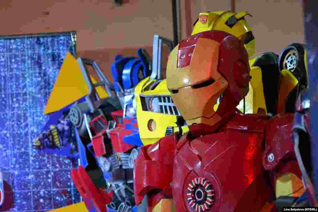 Супергерой всесвіту «Марвел» Тоні Старк «Залізна людина»